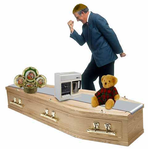 The Spuccie Brucie Coffin