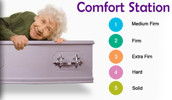 Coffin Comfort station