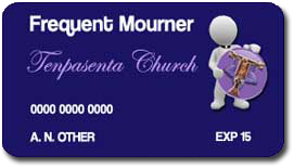 Frequent Mourner card