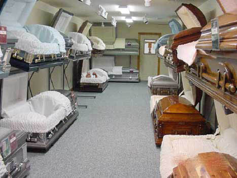 american casket showroom