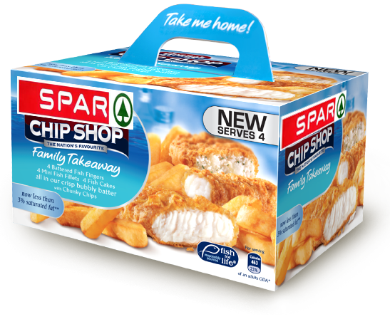 Spar Fish and Chips