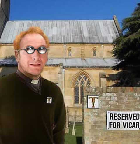 Graham the Vicar, senior sales advisor