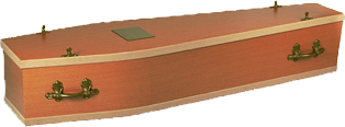 weighted coffin for sea burial